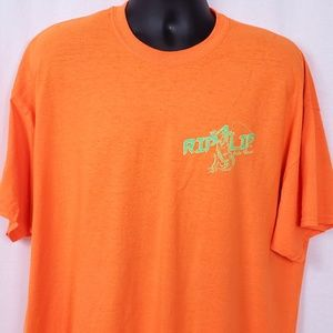 Other - Rip A Lip Size 2XL Shirt Neon Fish Wear